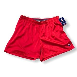 NWT Red Champion Mesh Athletic Shorts